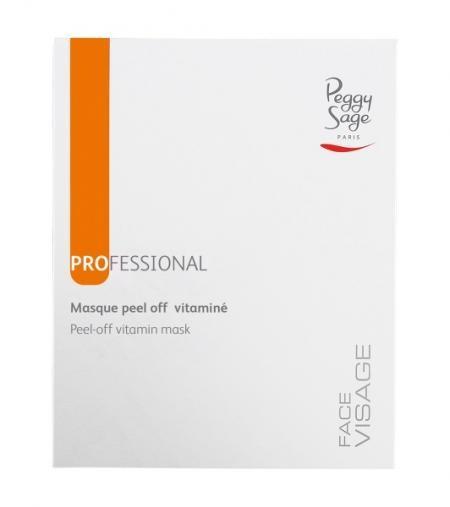 Peggy Sage - Peel-Off Vitamin-Gesichtsmaske 6 x 30 g