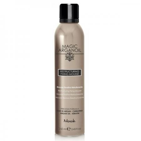 Nook - Magic Arganoil Restructuring Fixing Mousse