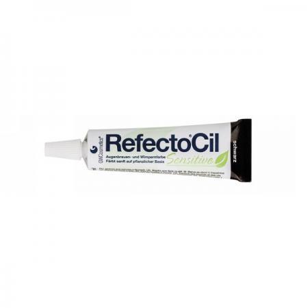 RefectoCil Sensitive Augenbrauen- & Wimpernfarbe schwarz 15 ml