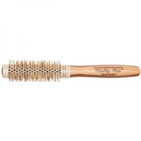 Olivia Garden Healthy Hair Bambus-Keramikbürste 23/40 mm