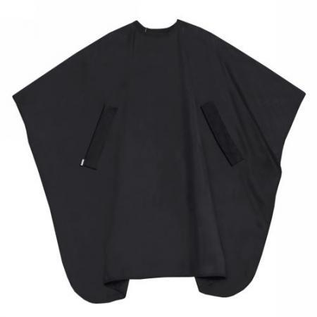 Trend-Design Färbeumhang Nano Compact Uni schwarz