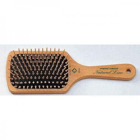 Fripac-Medis Natural Line Paddle Brush 9-reihig
