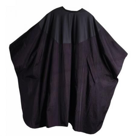 Trend-Design Haarschneideumhang Top Twin X schwarz/schwarz