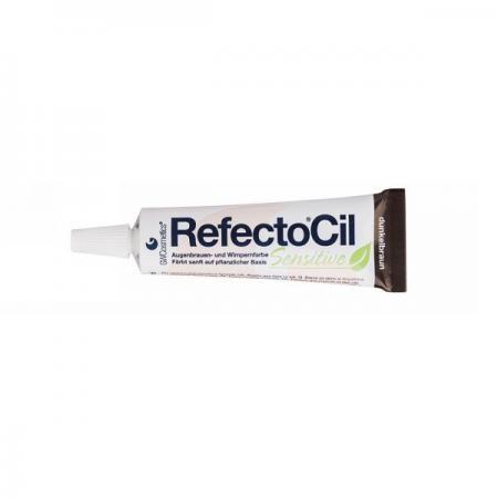 RefectoCil Sensitive Augenbrauen- & Wimpernfarbe dunkelbraun 15 ml